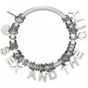 Sex and the City Bangle-Style Charm Bracelet  Prop Replica